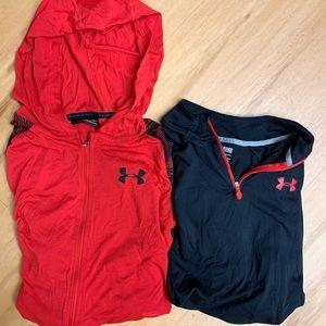 Under armor Heat Gear shirts